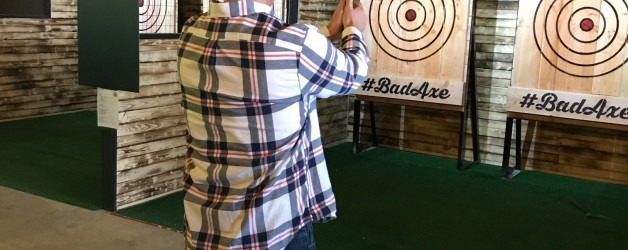 Throw Axes Like Warriors At New Camillus Bar In Township 5