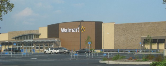 Opening day for Walmart at Bayonne Crossing draws crowds